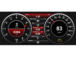 Динамические параметры и ошибки ЭБУ для WiFi Dashboard