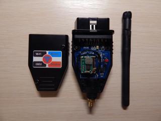 Новая реализация адаптера WiFi-OBD2