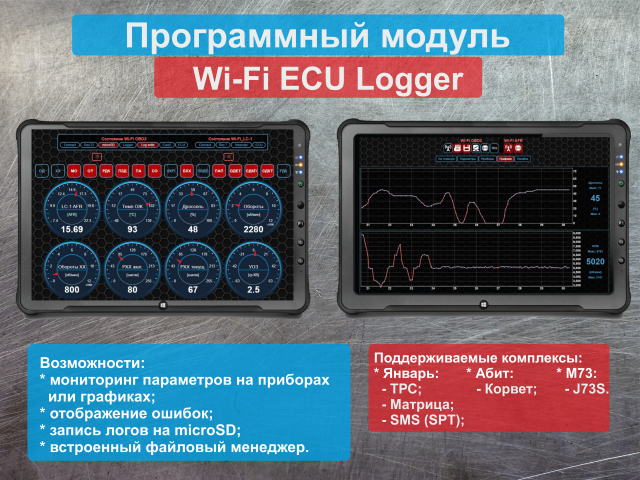 Wi-Fi ECU Logger